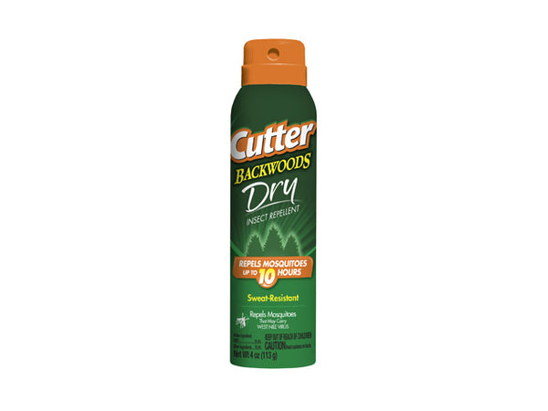 Cutter® HG-96248 Backwoods™ Dry Insect Repellent Aerosol, 4 Oz