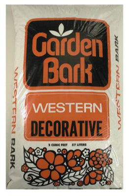 Garden Time GT00160 Western Decorative Ground Cover Bark,Small
