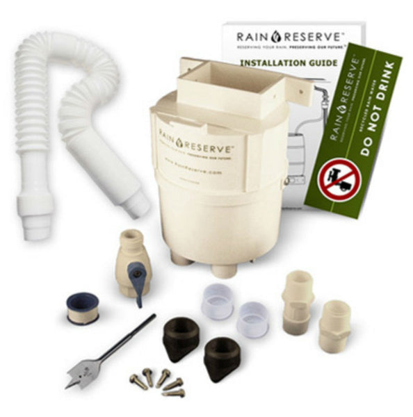 Rain Reserve 2012303 Complete Rain Water Diverter Kit For Rain Barrels