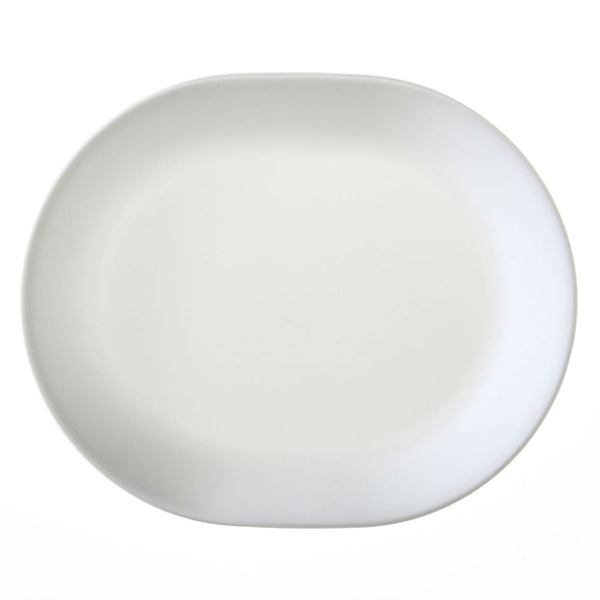 Corelle® 6003110 Livingware™ Winter Frost White Serving Platter, 12-1/4""