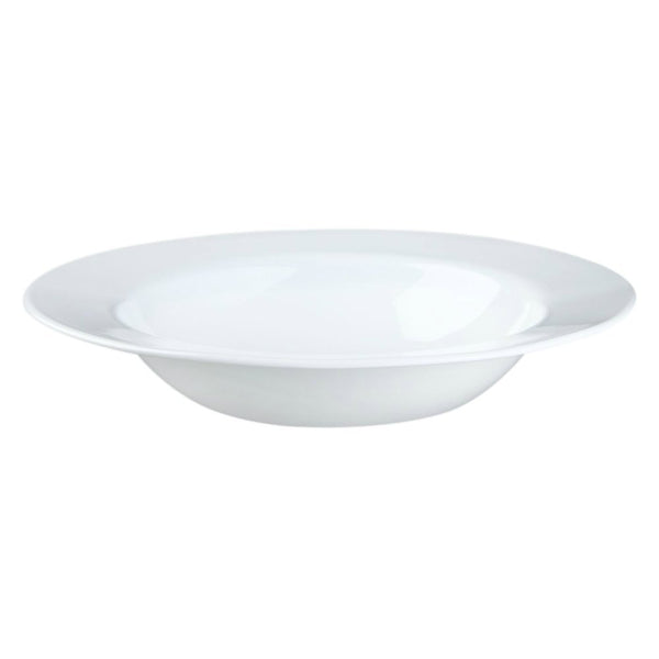 Corelle® 1106713 Wide Rim Entree Bowl, Winter Frost White, 28 Oz