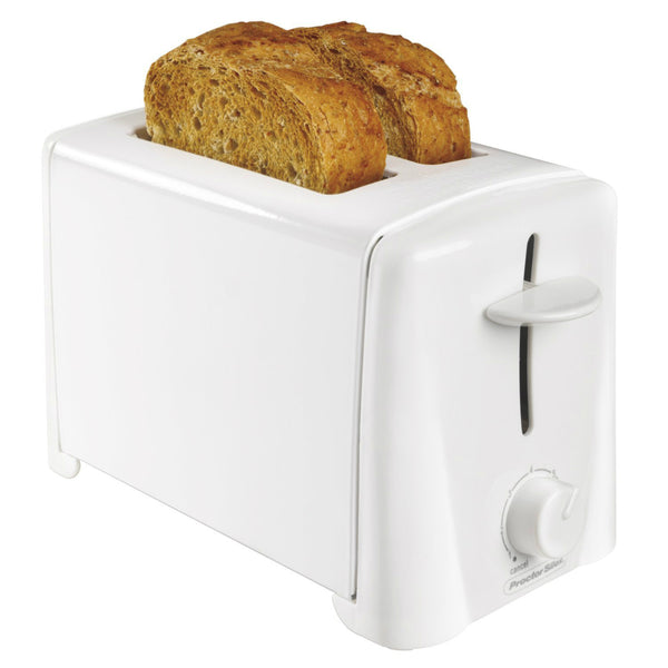 Proctor Silex 22611 2-Slice Cool Touch Toaster, White