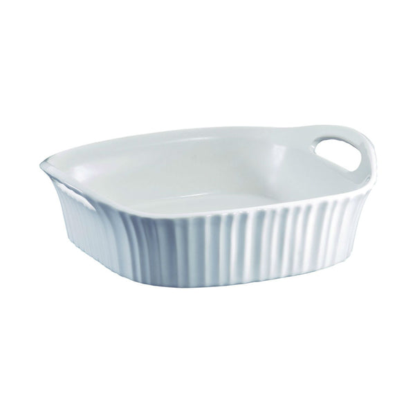 Corningware® 1107026 French White® Square Baking Dish, 8""