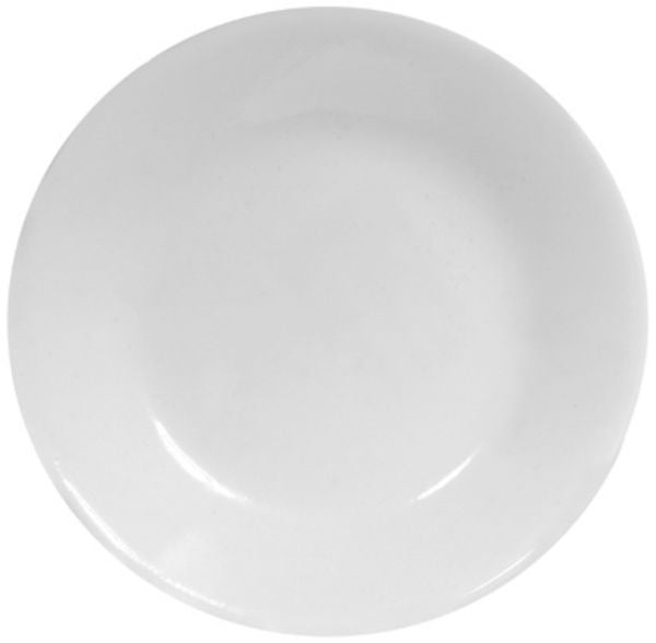Corelle® 1105553 Livingware™ Dipping Plate Mini Dish, Winter Frost White, 4-3/4""