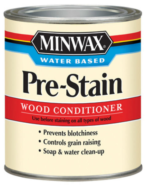 Minwax® 618514444 Water Based Pre-Stain Wood Conditioner, 1 Qt