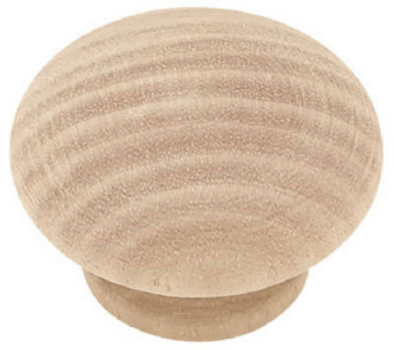 "Liberty P10513H-BIR-C Round Wood Knob, 1-1/2"" Diameter, White Birch"