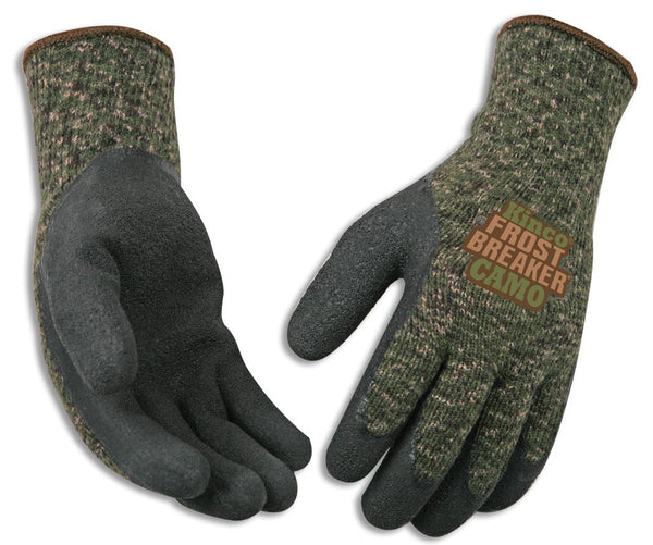 Kinco 1788-L Frost Breaker® Camo Form Fitting Thermal Gloves, Large