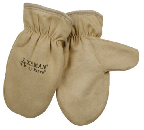 Kinco 1930-Y Axeman® Youth's Lined Grain Leather Mitten
