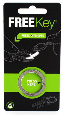 Exotac 002815 FREEKey™ Basic Key Ring, 1-1/8""