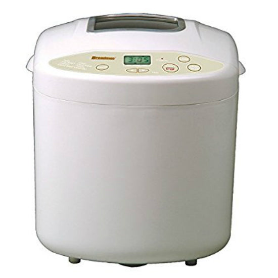 Breadman TR520 Horizontal Loaf Breadmaker, Makes 2 lbs Loaf