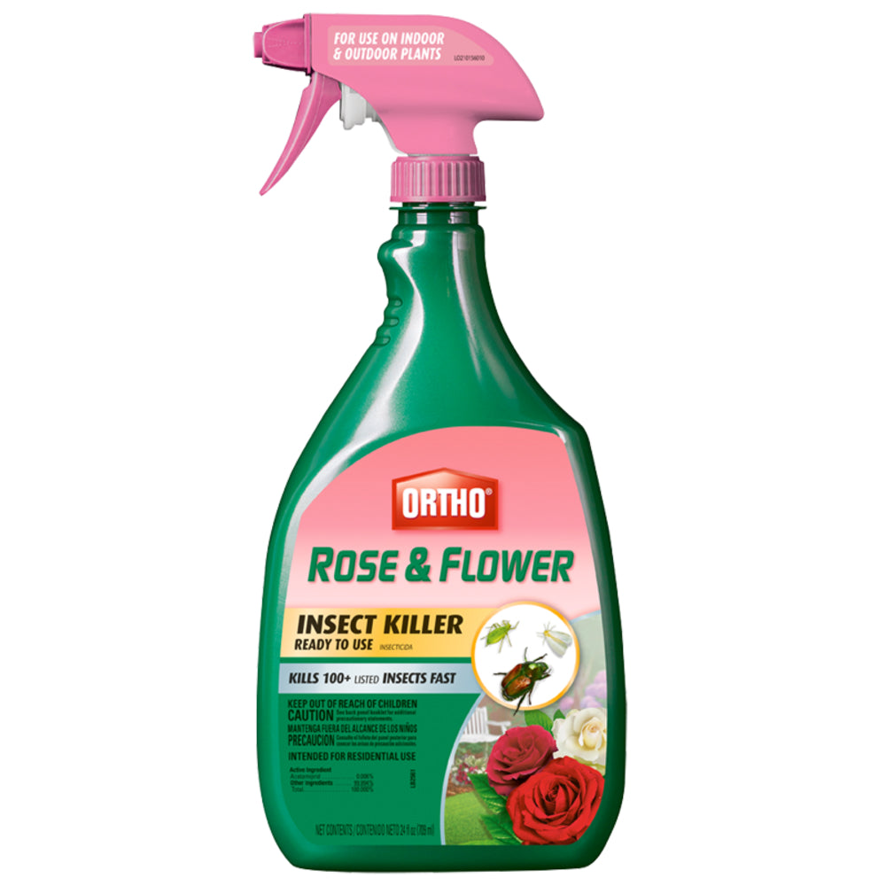 Ortho® 0345020 Rose & Flower Insect Killer Ready To Use, 24 Oz