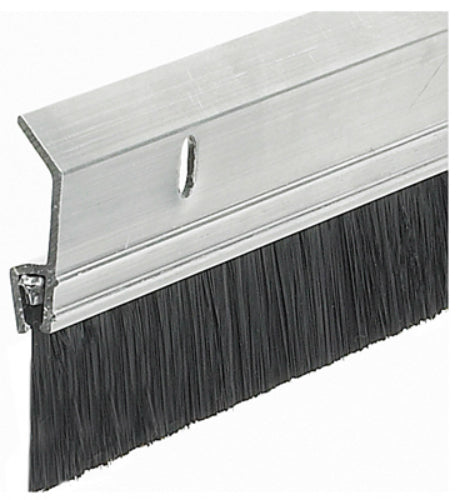 "Frost King SB36H Heavy Duty Aluminum Brush Door Sweep, 2"" x 3"""