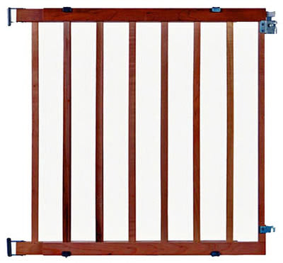 "North States 4630 Stairway Swing Wood Safety Gate, 28""-42"" x 30"""