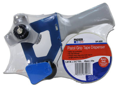 Packer One SP-500C Tape Gun & Tape, 2""
