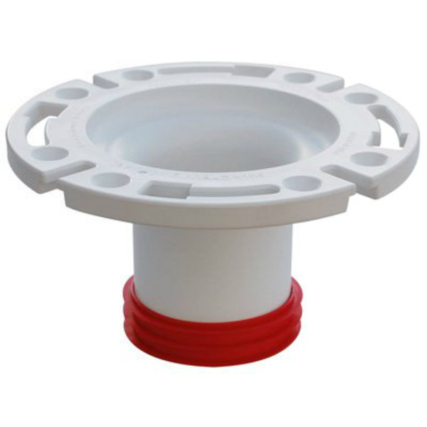 "Sioux Chief 888-GPM PushTite™ Gasketed Closet Flange, 3"" PVC"