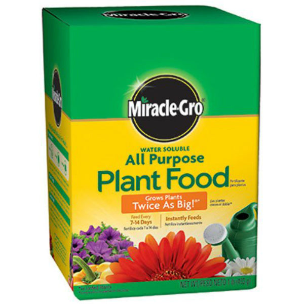 Miracle-Gro® 160101 Water Soluble All Purpose Plant Food, 24-8-16, 1 Lbs
