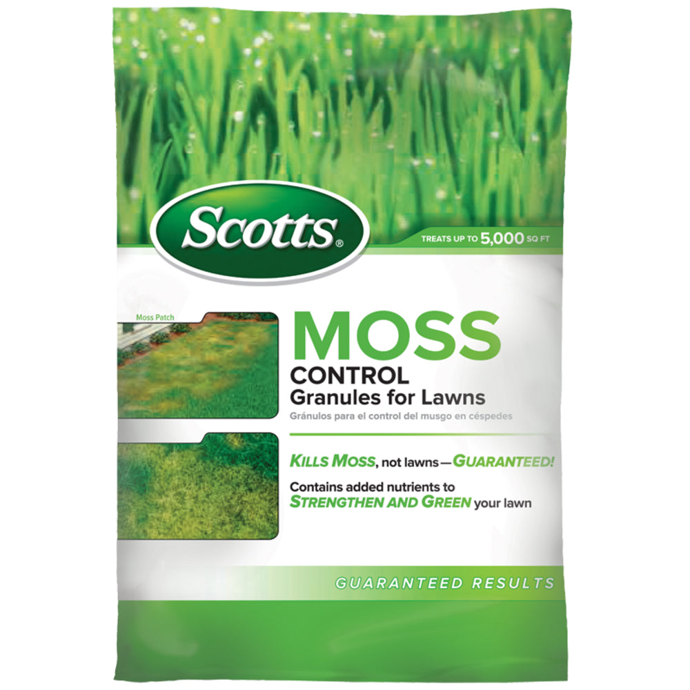 Scotts® 31015 Moss Control Granules for Lawns, 5,000 Sq-Ft Coverage