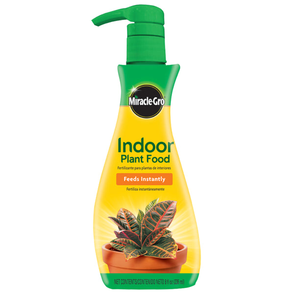 Miracle-Gro® 1000551 Indoor Plant Food, 1-1-1, Ready To Use, 8 Oz