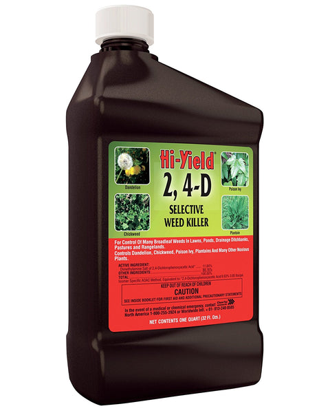 Hi-Yield® 21415 Selective Weed Killer Concentrate, 2,4-D, 32 Oz