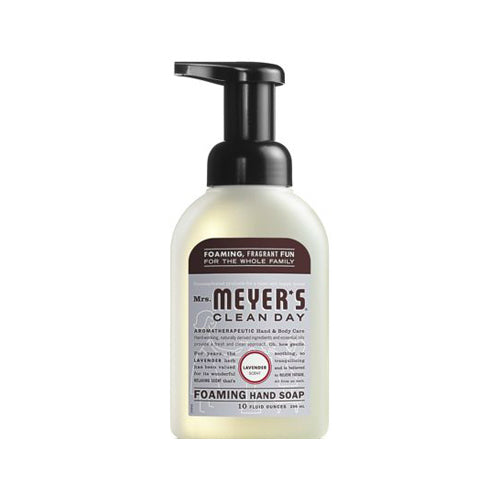 Mrs. Meyer's Clean Day 11166 Foaming Hand Soap, 10 Oz, Lavender Scent