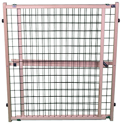 "North States 4614A Extra Wide Expandable Wire Mesh Pet Gate, 32"" x 29.5""-50"""