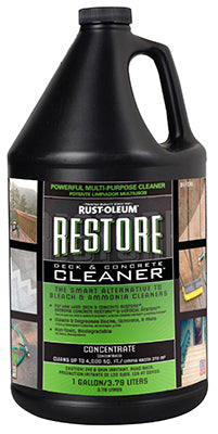 Rust-Oleum® 51752 Restore™ Deck & Concrete Cleaner, 1 Gallon
