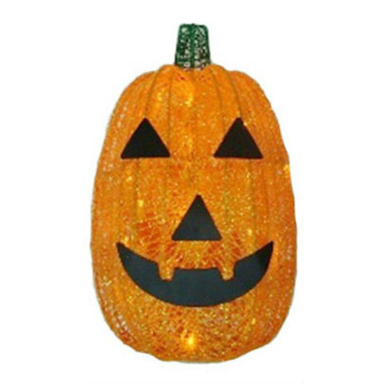 Sylvania V34222-88 Battery-Operated Halloween Pumpkin with 30 Orange LED, 16""