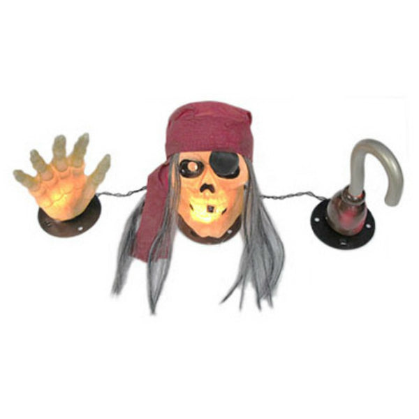Sylvania V37097-88 Halloween Pirate Pete with Hook & Hand Set, 20-Lights