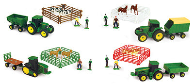 John Deere 37657A Farm Carded Set Assorted, 10-Piece