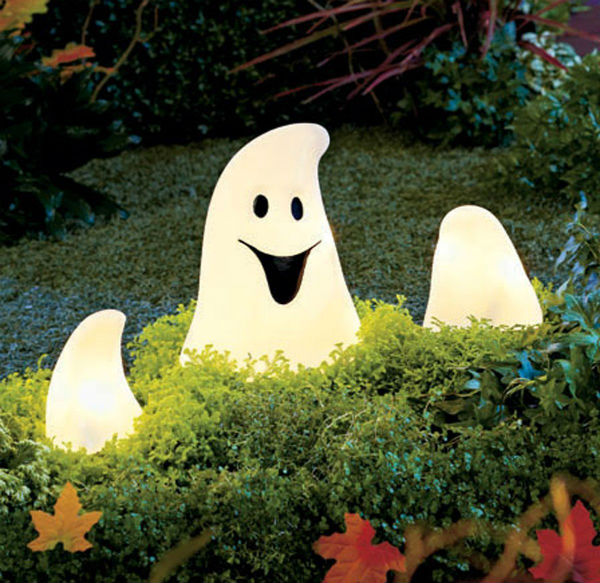 Sienna S2604111 Halloween Ghost & Hands Ground Breaker Light Set, 12-Light