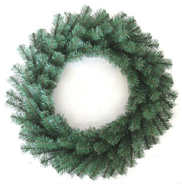 Holiday Wonderland® CAN-406-24 Unlighted Artificial Wreath, 24""
