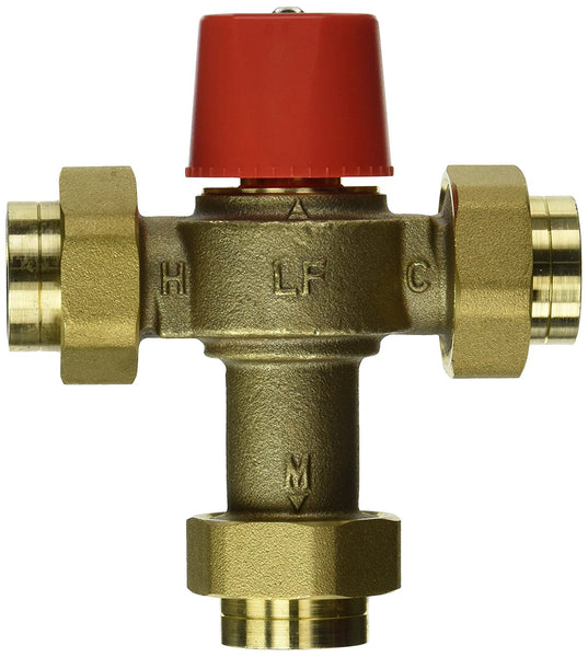 "Watts® LF1170M2-UT-3/4 Lead-Free Thermostatic Mixing Valve, 3/4"" FPT"