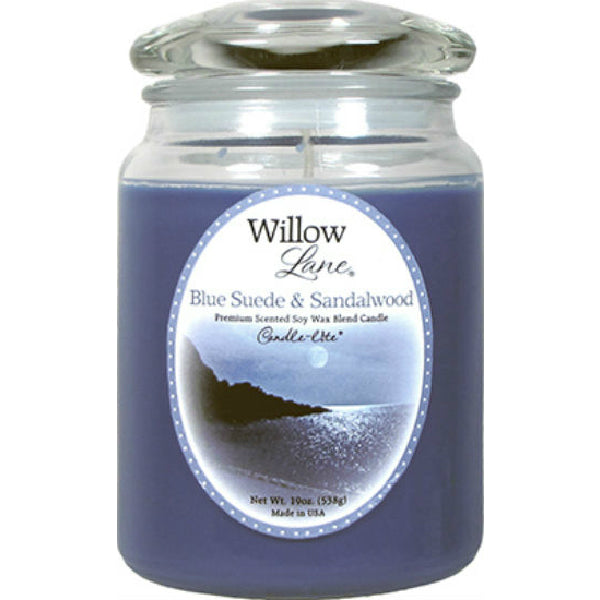 Candle Lite® 1646033 Willow Lane™ Wax Jar Candle, 19 Oz