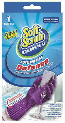 Soft Scrub 12812-16 Premium Defense Glove, Medium
