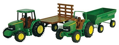 "John Deere 37163P Tractor With Wagon 8"", Assorted"