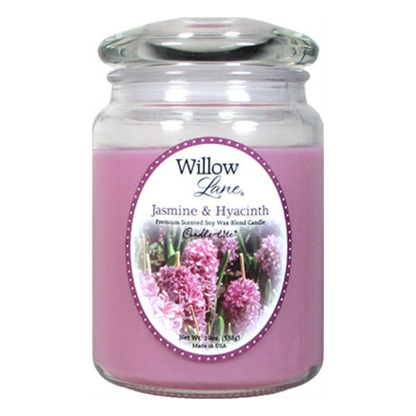 Candle Lite® 1646622 Willow Lane™ Wax Jar Candle, 19 Oz