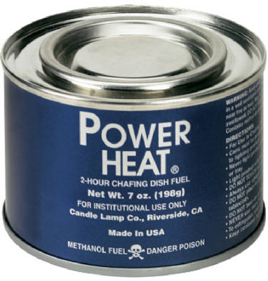 Sterno 20102 Power Heat Fuel Chafing Dish Fuel, 7 Oz