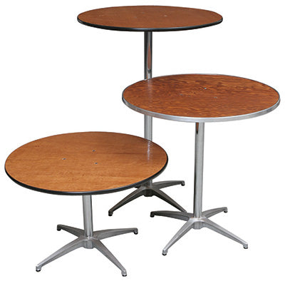 "Palmer Snyder 100 Series Cocktail Table, 30""D x 42""H"