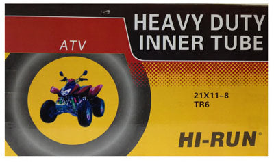 HI-RUN TUN5003 Heavy-Duty ATV Inner Tube, 21x11-8, Tr6