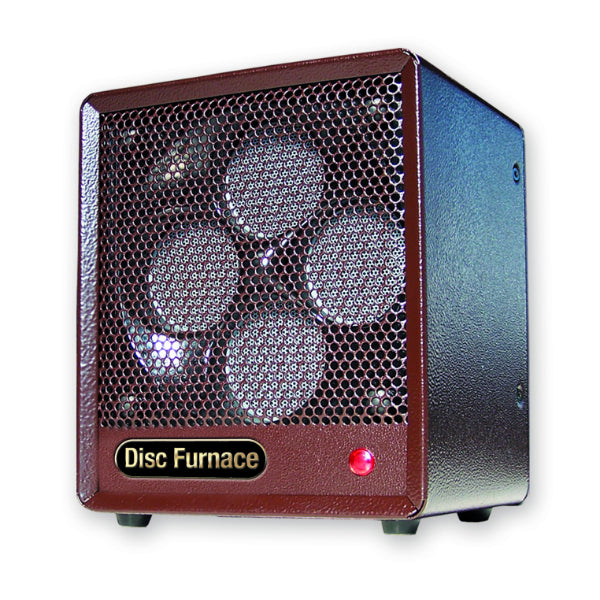 Comfort Glow™ B-DISC-6 Original Brown Box Ceramic Disc Heater, 1500 Watt, 5200 BTU