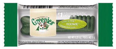 Greenies 10108876 Teenie Dog Dental Chew, 0.28 Oz