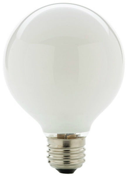 Westpointe 71139 Medium Base G25 Halogen Bulb, White, 43W, 750 Lumens
