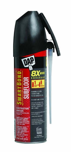 Dap® 00036 SmartBond™ Subfloor Construction Adhesive Foaming Gel, 20 Oz