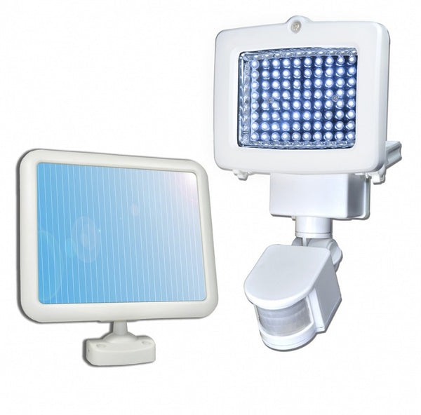SunForce® 82080 Solar Motion Flood Light, 80 LED