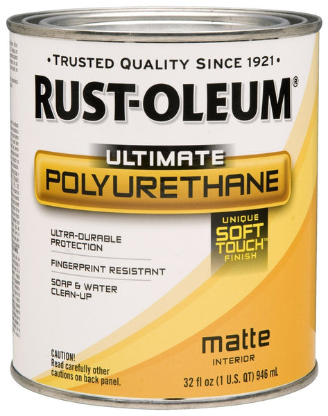 Rust-Oleum® Ultimate Interior Polyurethane with Soft Touch, 1 Qt, Matte
