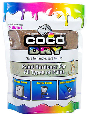 Coco Dry™ Paint Hardener for All Types of Paint, 2 Qt, Bag