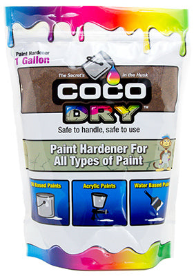 Coco Dry™ Paint Hardener for All Types of Paint, 1-Gallon, Bag