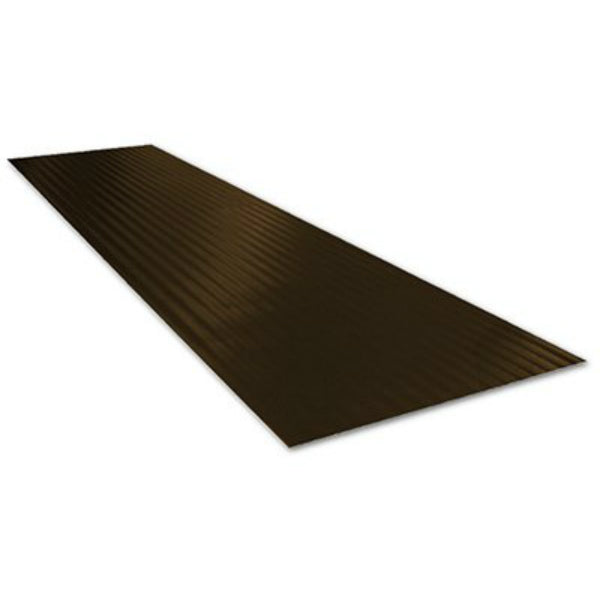 "Tenex F6419115 Ribbed Stair Tread, 8.75"" x 24"", Black"