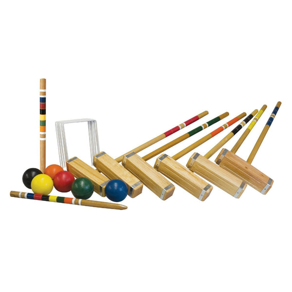 Franklin 50202 Advanced 6-Player Croquet Set
