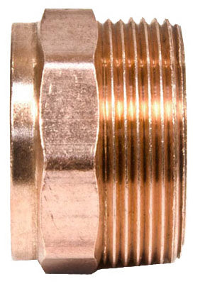 Mueller A67054 Streamline® Cast Bronze DWV Male Adapter, 1-1/2""